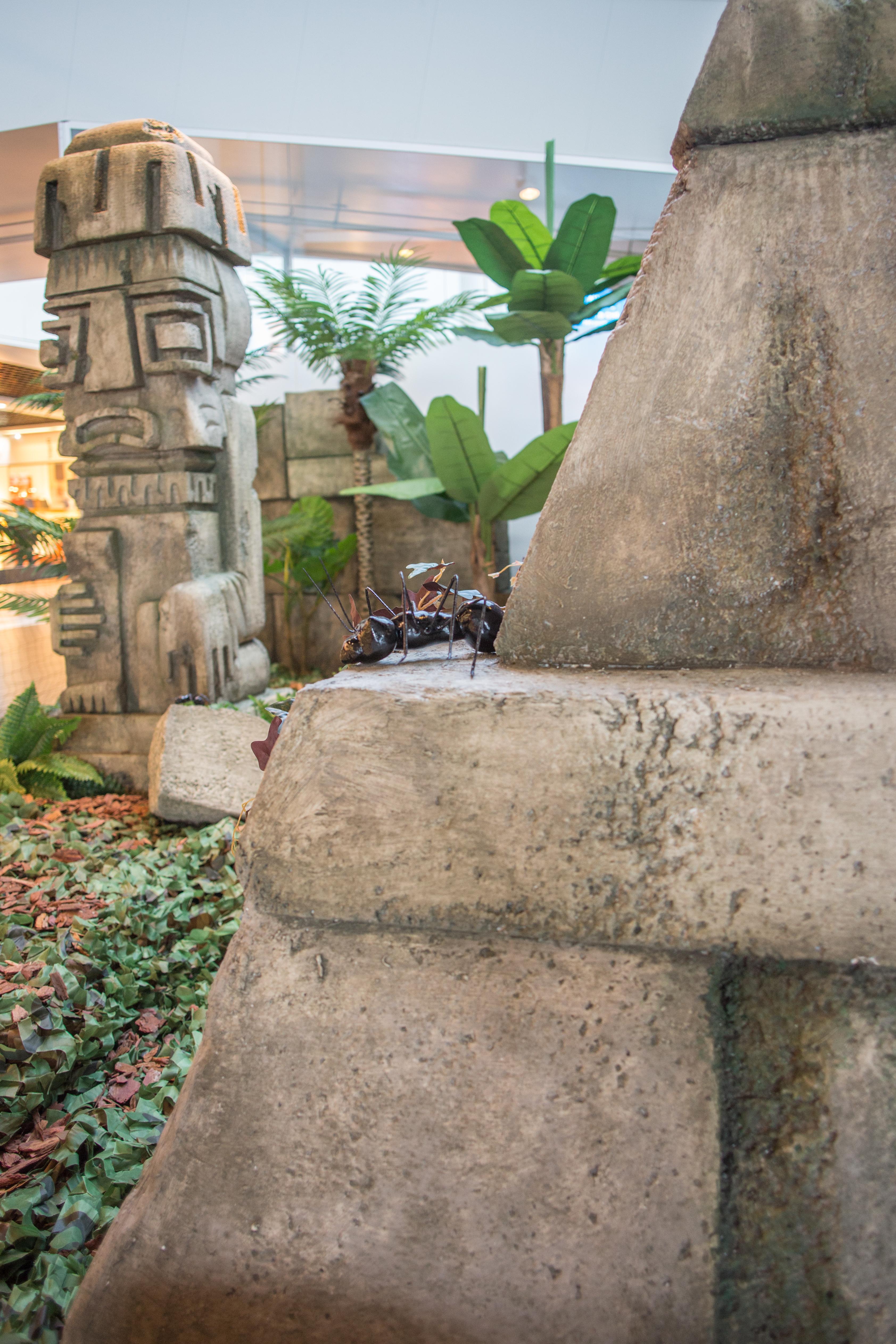 Décor Maya aventure Land Migros VD